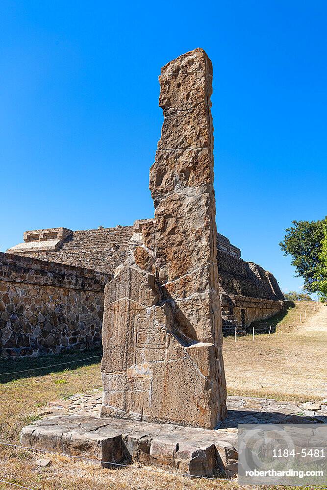 Unesco world heritage site Monte Alban, Oaxaca, Mexico