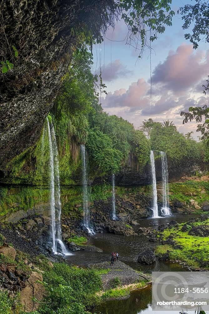 Agbokim waterfall, Ikom, Nigeria