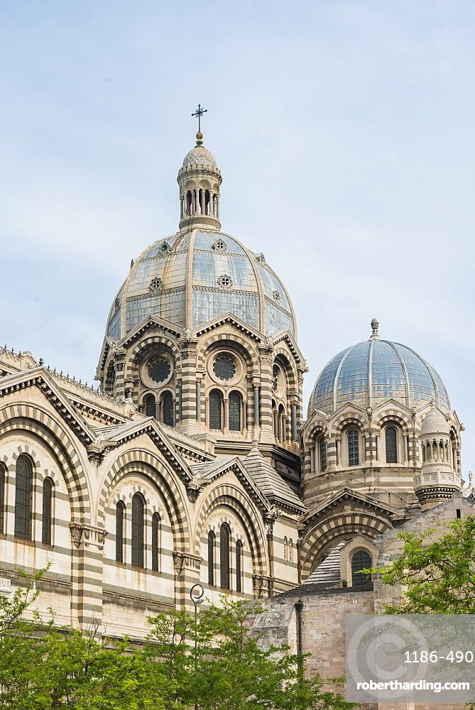 Cathedrale La Major, Marseille, Bouches du Rhone, Provence, Provence-Alpes-Cote d'Azur, France, Mediterranean, Europe