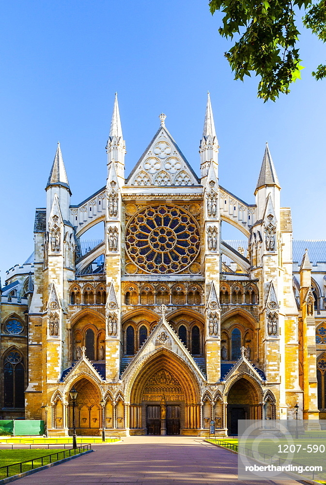 Westminster Abbey in London, England, Europe