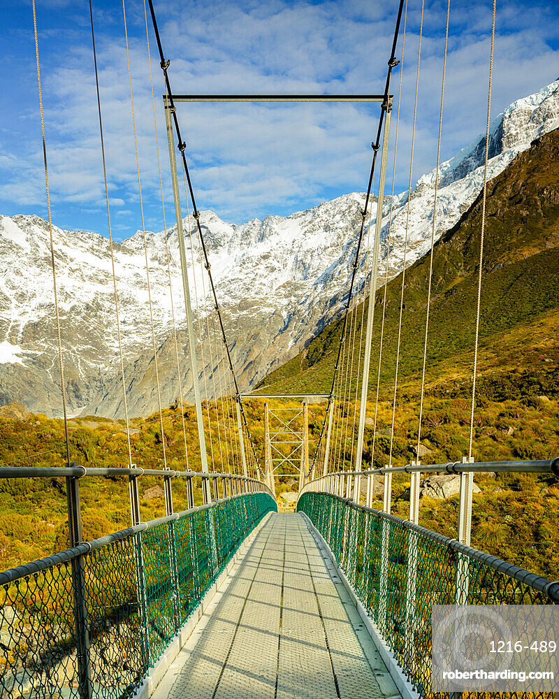 Mount Cook National Park, UNESCO World Heritage Site, Southern Alps, South Island, New Zealand, Pacific