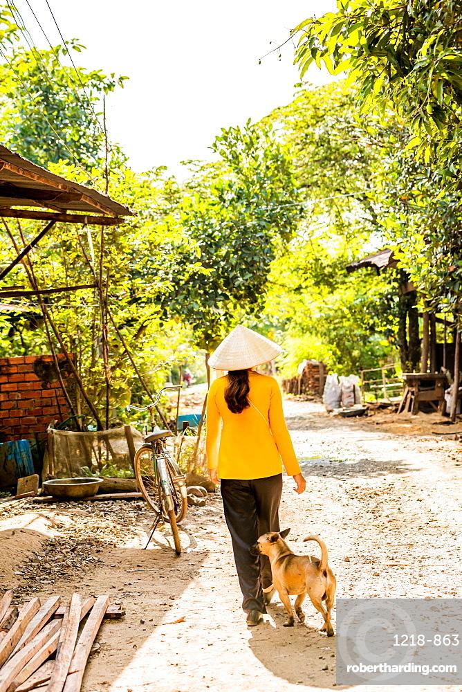 Village life, Vietnam, Indochina, Southeast Asia, Asia