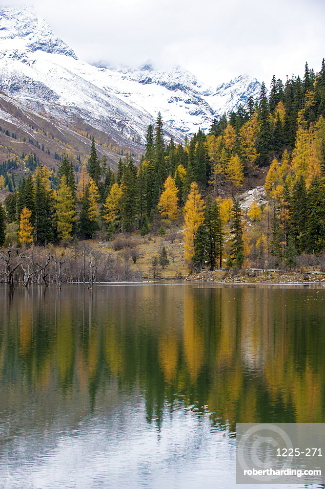 Mount Siguniang, an area of outstanding natural beauty in Sichuan Province, China, Asia