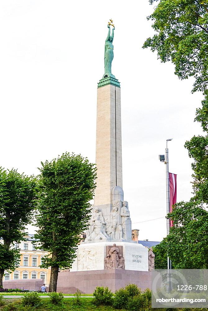 Freedom Monument, Riga, Latvia, Europe