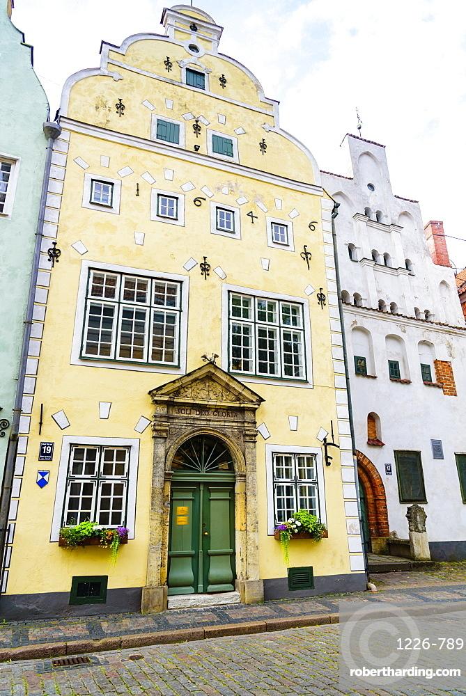 Three Brothers, Old Town, UNESCO World Heritage Site, Riga, Latvia, Europe