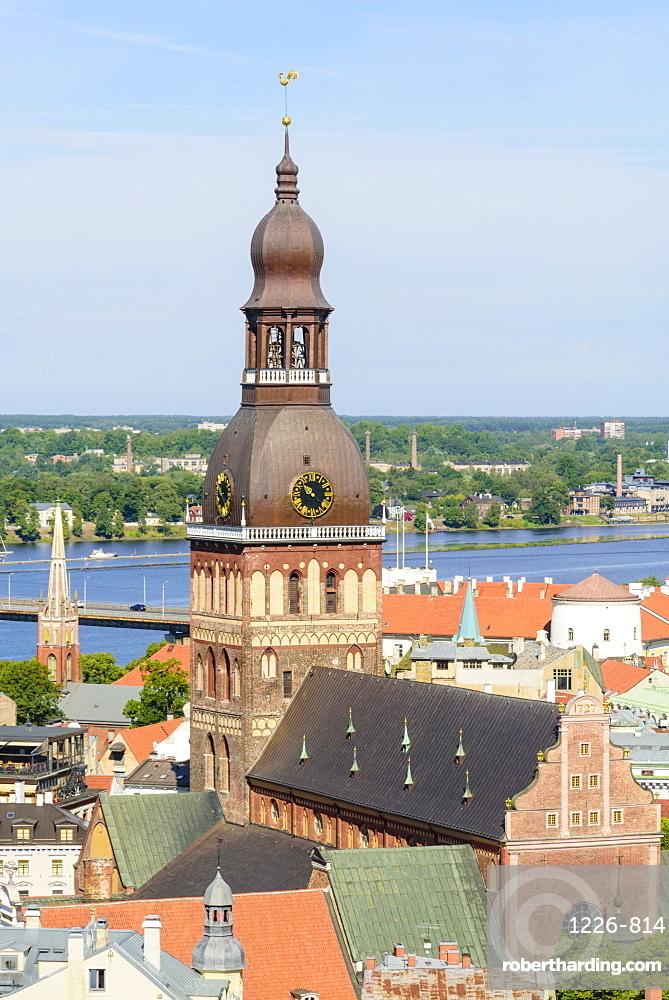 Riga Cathedral, UNESCO World Heritage Site, Riga, Latvia, Europe