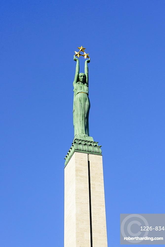 The Freedom Monument, Riga, Latvia, Europe