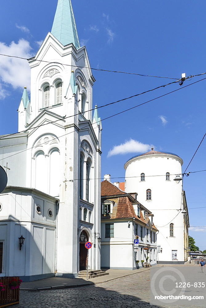 Our Lady of Sorrows Church, Old Town, UNESCO World Heritage Site, Riga, Latvia, Europe