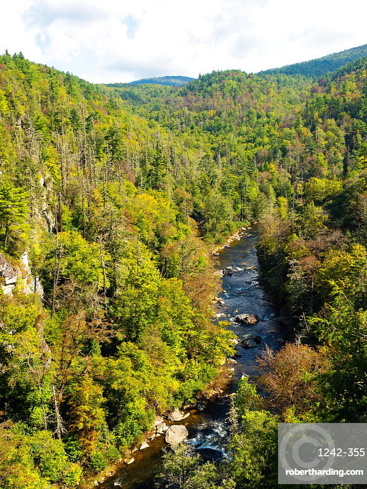 Linville River, Blue Ridge Mountains, Appalachia, North Carolina, United States