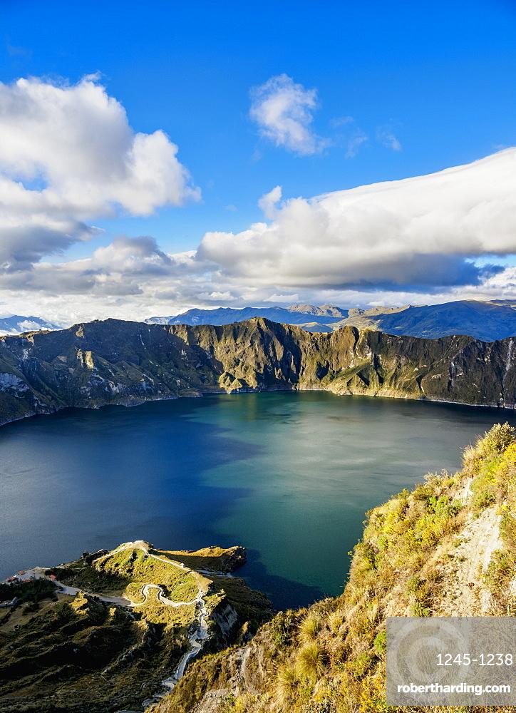 Lake Quilotoa, Cotopaxi Province, Ecuador, South America