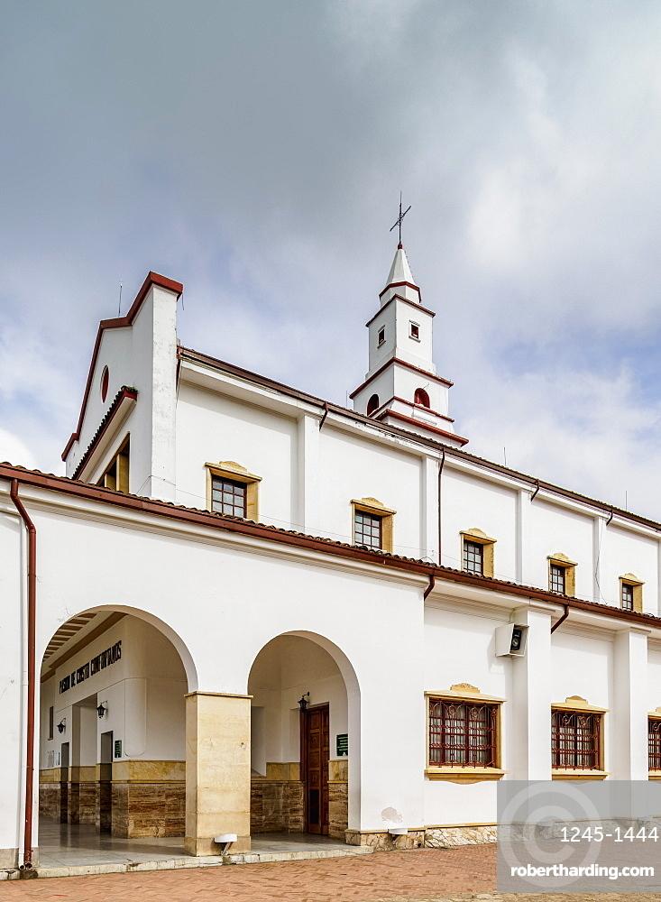 Monserrate Sanctuary, Bogota, Capital District, Colombia, South America