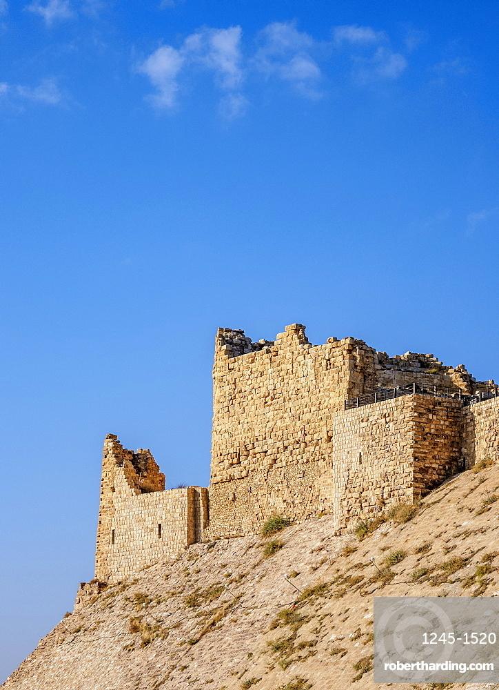 Kerak Castle, Al-Karak, Karak Governorate, Jordan, Middle East