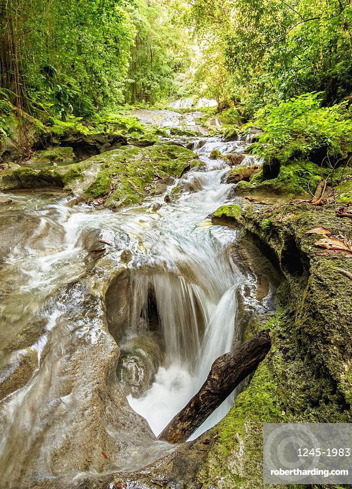 Reach Falls River, Portland Parish, Jamaica