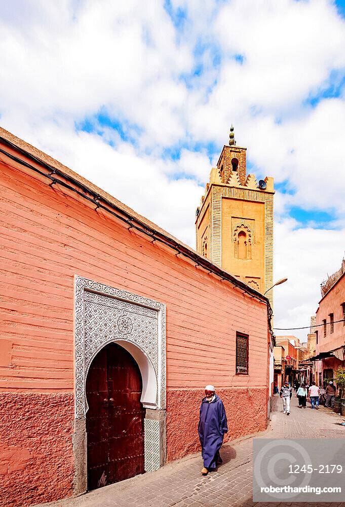 Ben Youssef Mosque, Old Medina, Marrakesh, Marrakesh-Safi Region, Morocco, North Africa, Africa