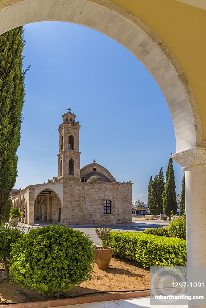 St. Georges old church in Paralimni, Cyprus, Europe