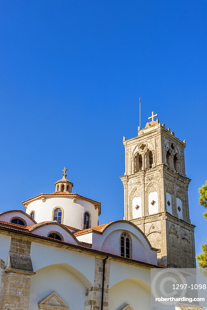 The Holy Cross church in the village of Lefkara in Cyprus, Europe