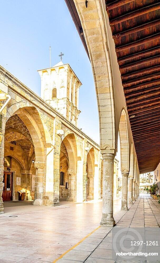 Church of Saint Lazarus, late 9th century, in Larnaca, Cyprus, Europe