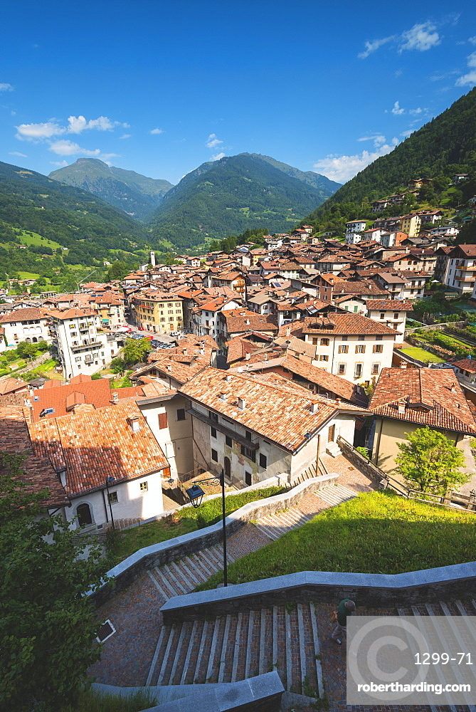 Bagolino, a small village in the mountain of Sabbia valley, Brescia province, Lombardy, Italy, Europe