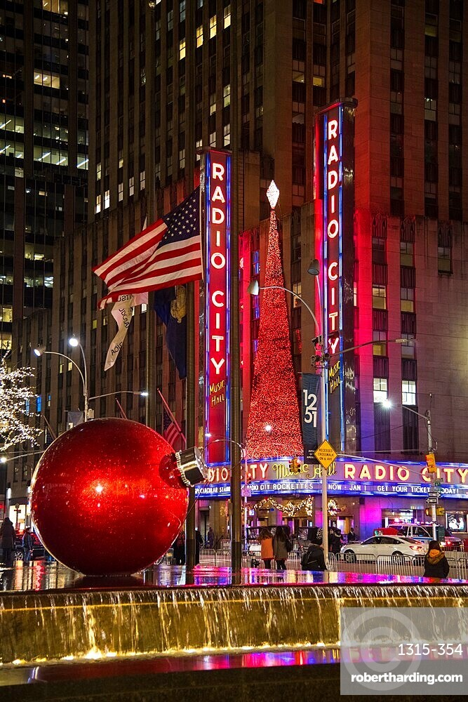 Christmas in New York City, New York