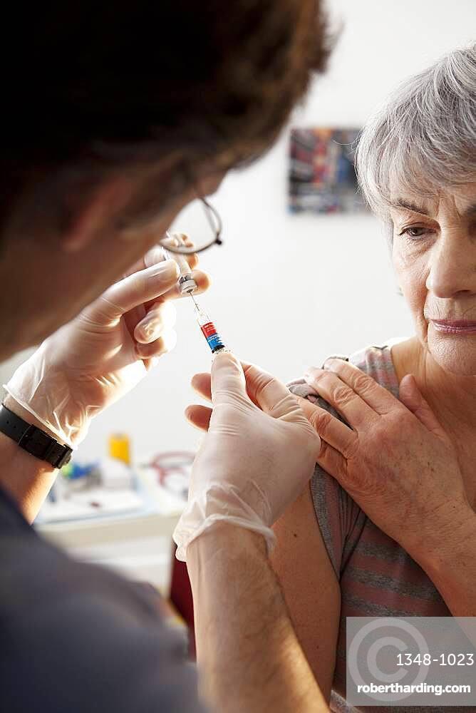 Vaccin grippe.