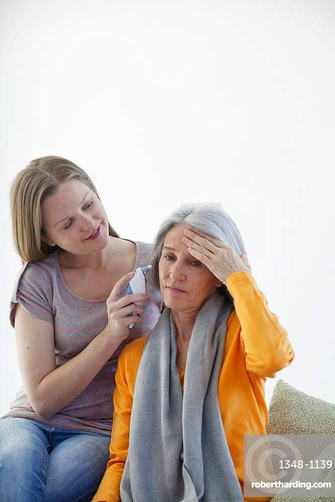 Temperature elderly person