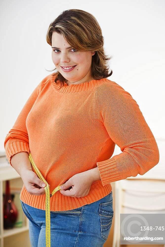 Woman's waist circumference