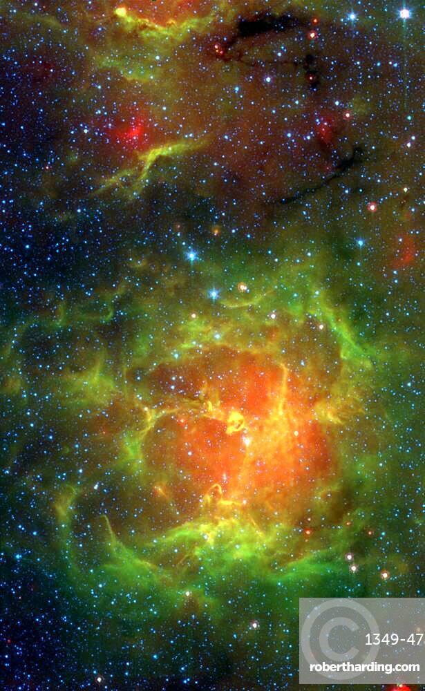 Trifid Nebula, M20, NGC 6514