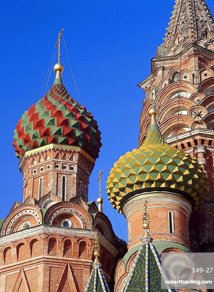 Detail of St.Basil's Cathedral, Moscow, Russia *** Local Caption ***