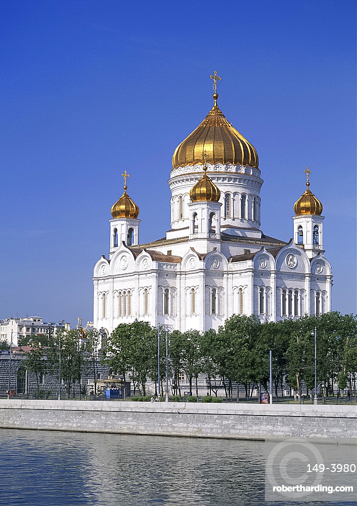 The church of Christ the Redeemer in Moscow, Russia *** Local Caption ***