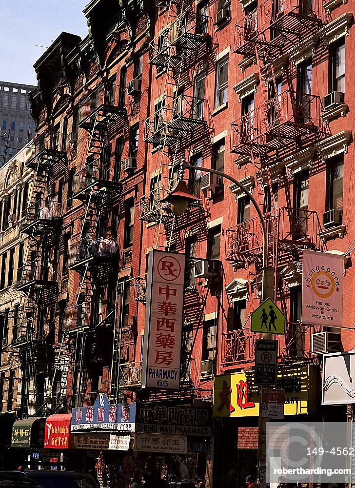 Chinatown, New York City, New York States, United States of America, North America