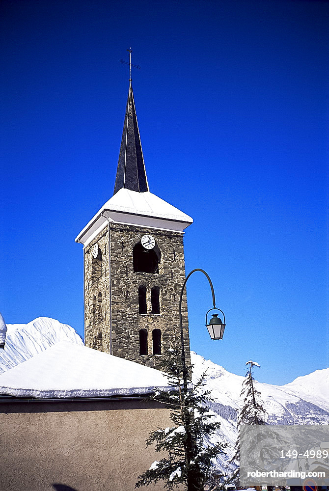 Saint Martin de Belleville, Haute-Savoie, French Alps, France, Europe