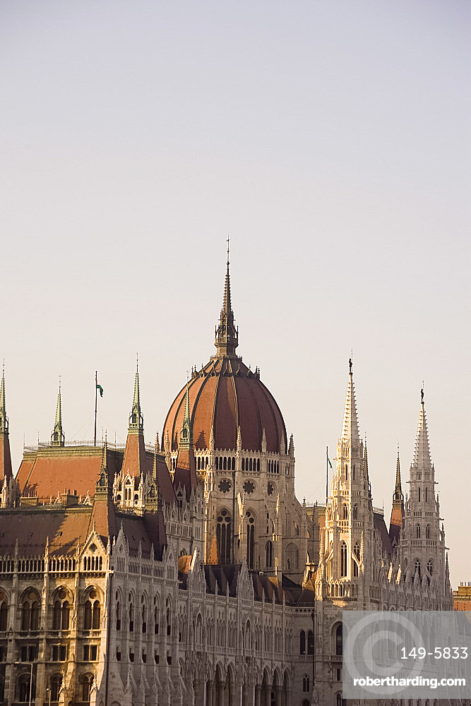 The Parliament Building, Budapest, Hungary, Europe