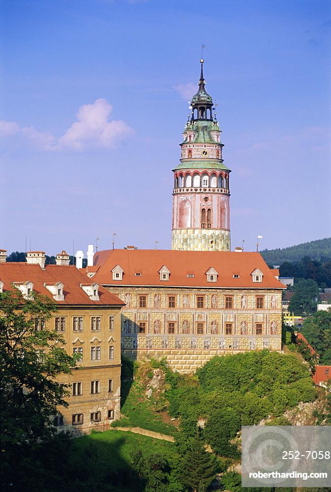 Krumlov Castle, Cesky Krumlov, South Bohemia, Czech Republic, Europe