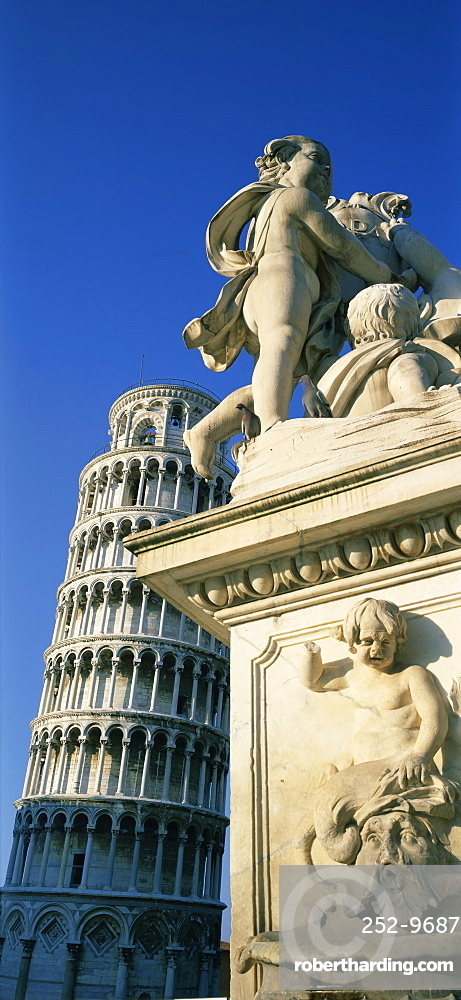 Leaning Tower (Torre Pendente), Pisa, UNESCO World Heritage Site, Tuscany, Italy, Europe