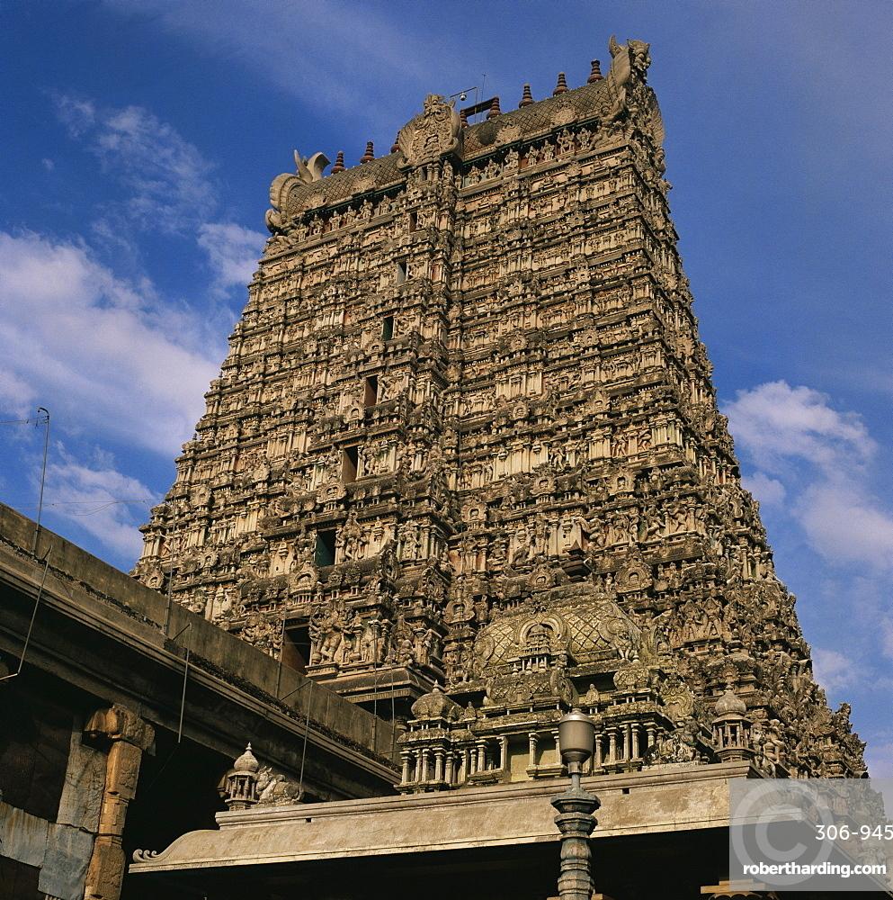 The Great Temple, Madurai, Tamil Nadu state, India, Asia