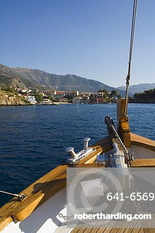 Assos, Kefalonia (Cephalonia), Greece, Europe