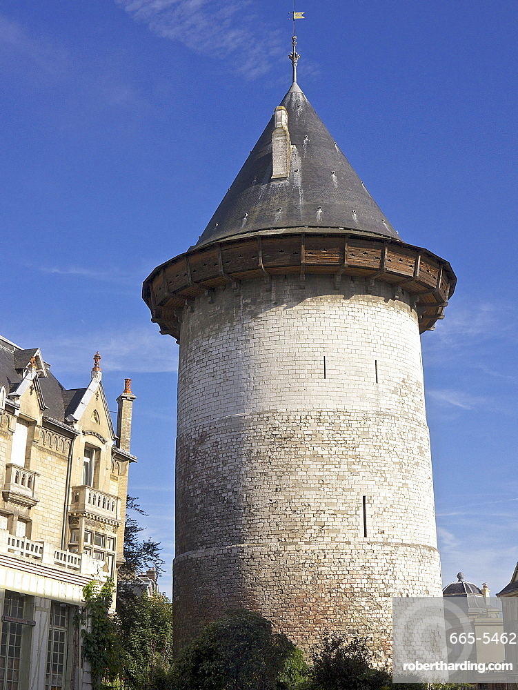Joan of Arc Tower dating from the 13th century, Rouen, Normandy, France, Europe