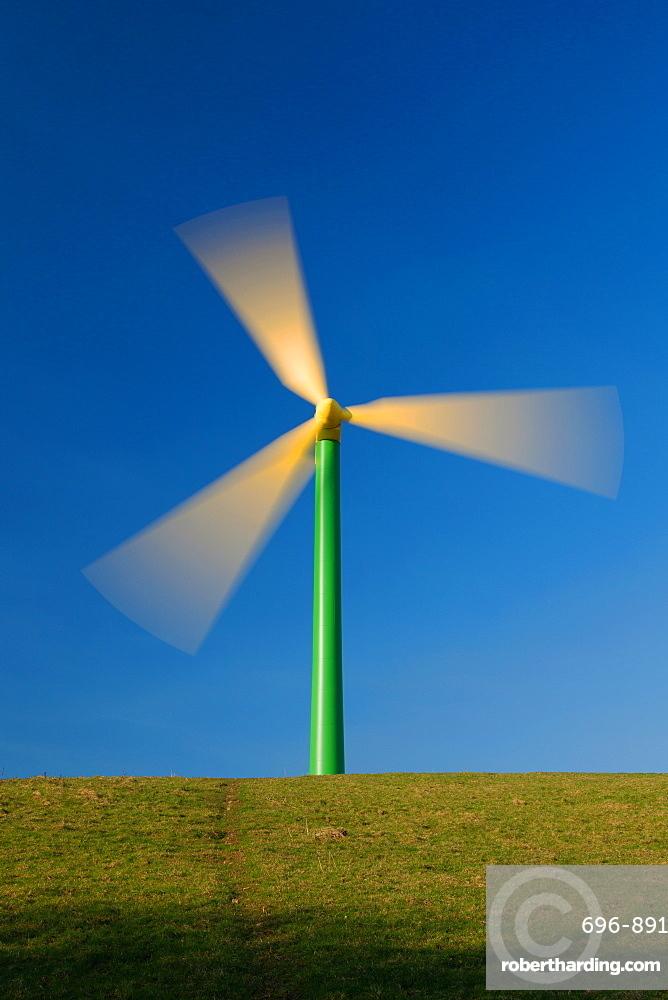 Wind Turbines, South Wales, United Kingdom, Europe