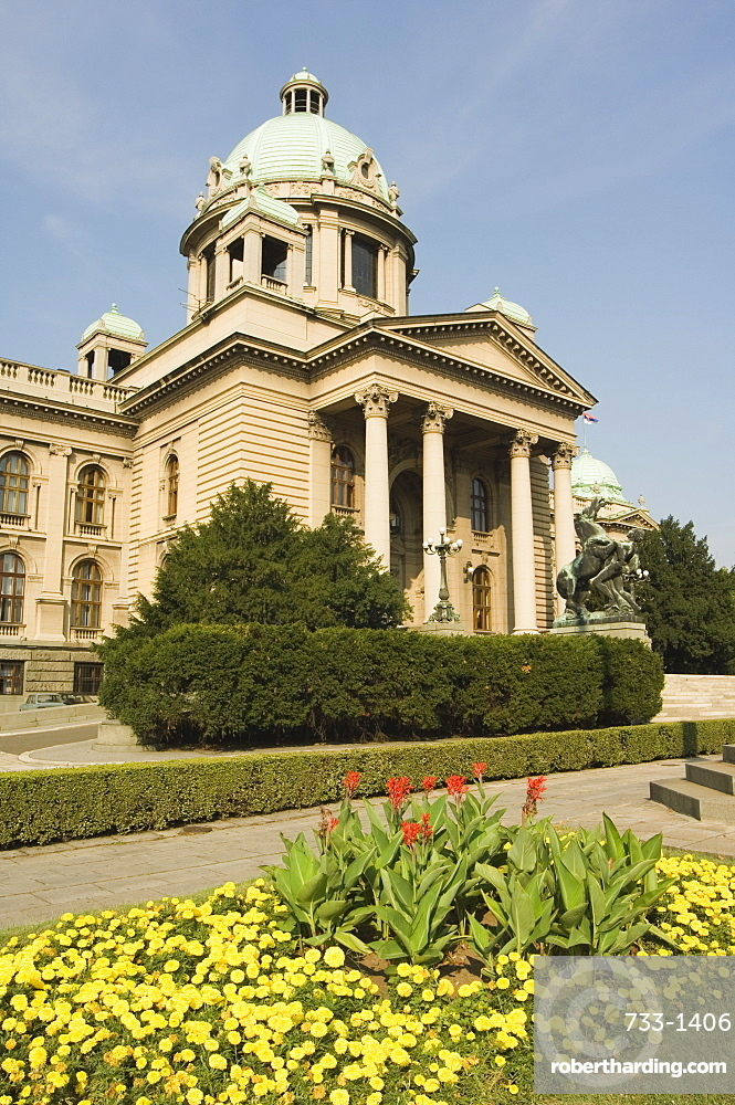 Federal Parliament Building, Belgrade, Serbia, Europe