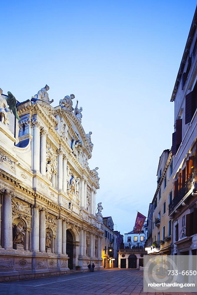 Santa Maria del Giglio Church, Venice, UNESCO World Heritage Site, Veneto, Italy, Europe