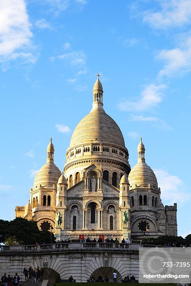 Sacre Coeur Basilica, Montmartre, Paris, France, Europe