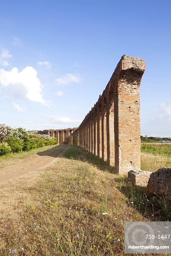 The Quintili, private aqueduct of Roman consuls, Rome, Lazio, Italy, Europe