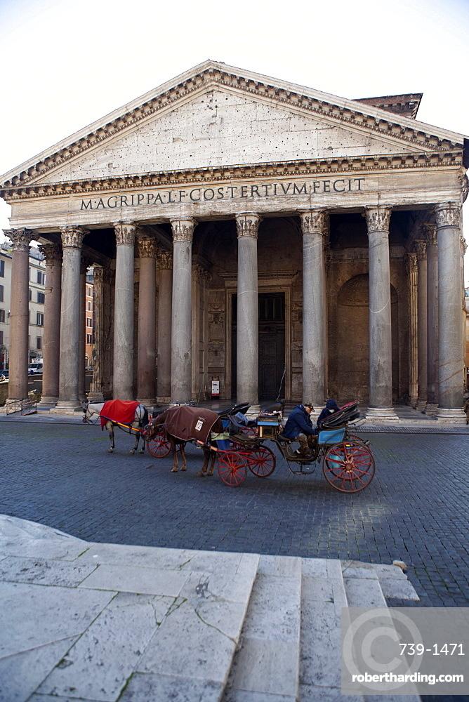 The Pantheon, UNESCO World Heritage Site, Rome, Lazio, Italy, Europe