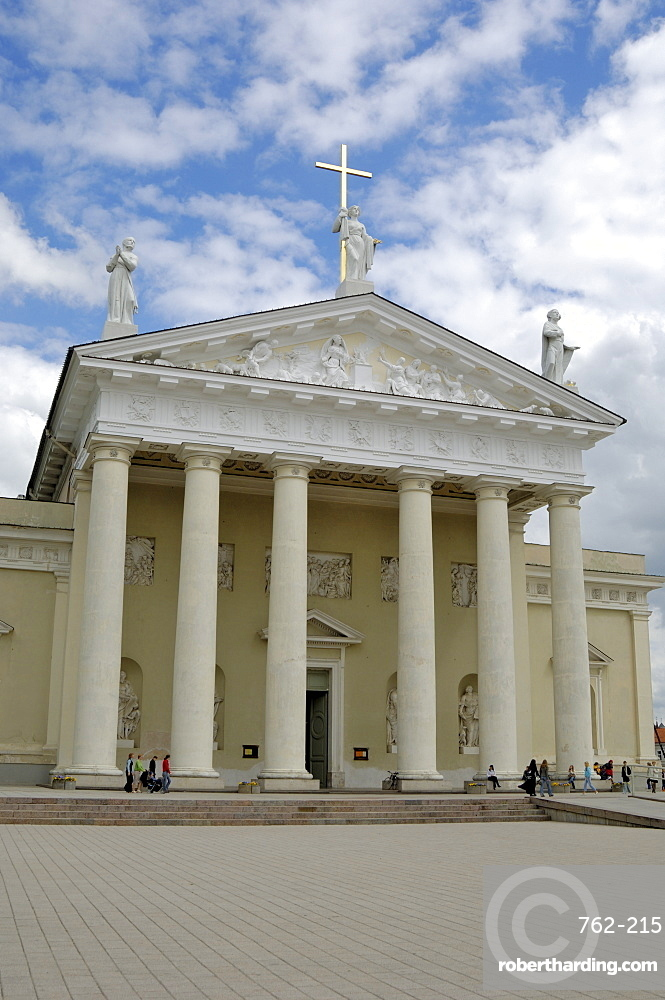 Cathedral, Vilnius, Lithuania, Baltic States, Europe