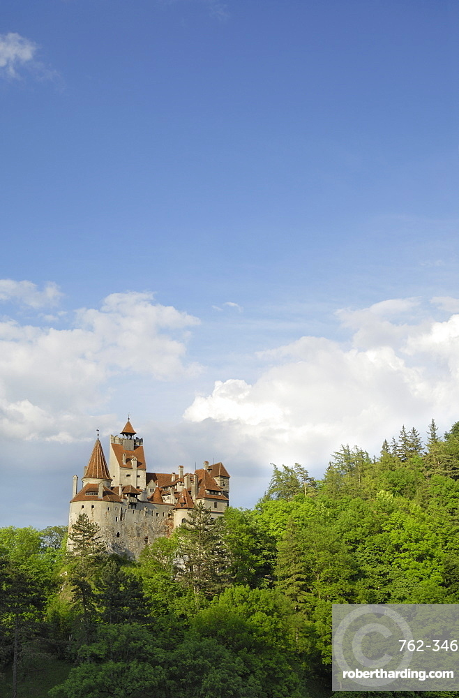 Bran Castle (Draculas Castle), Bran, Transylvania, Romania, Europe