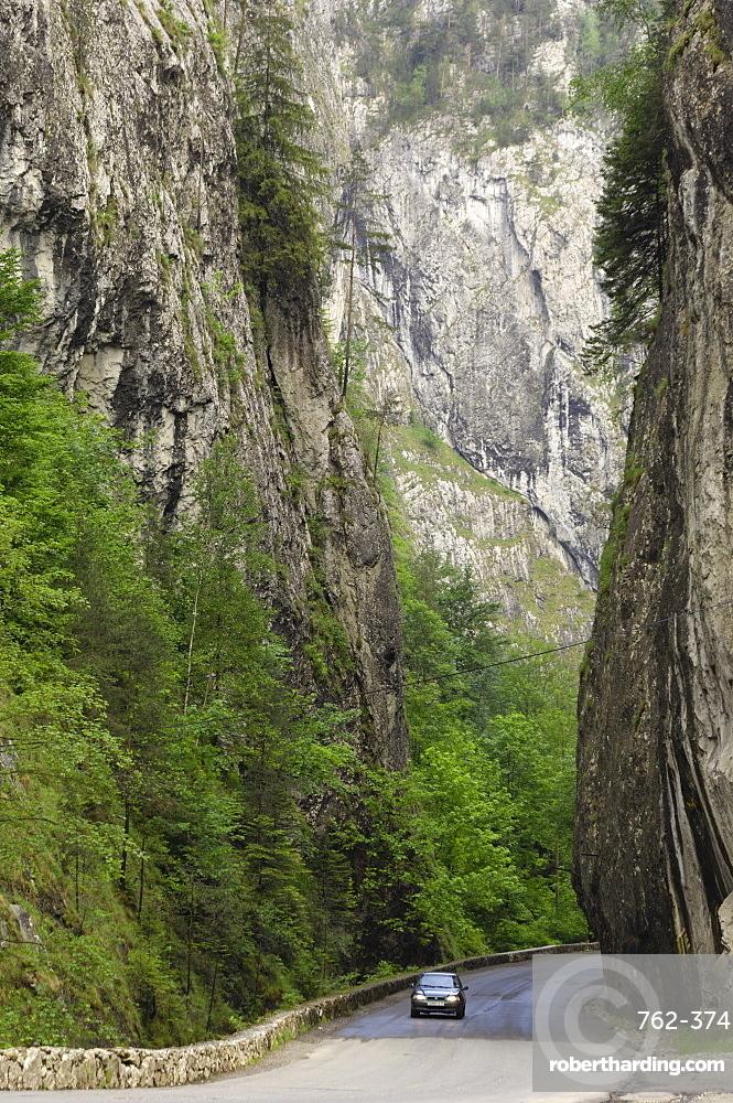 Bicaz Gorge, Moldavia, Romania, Europe