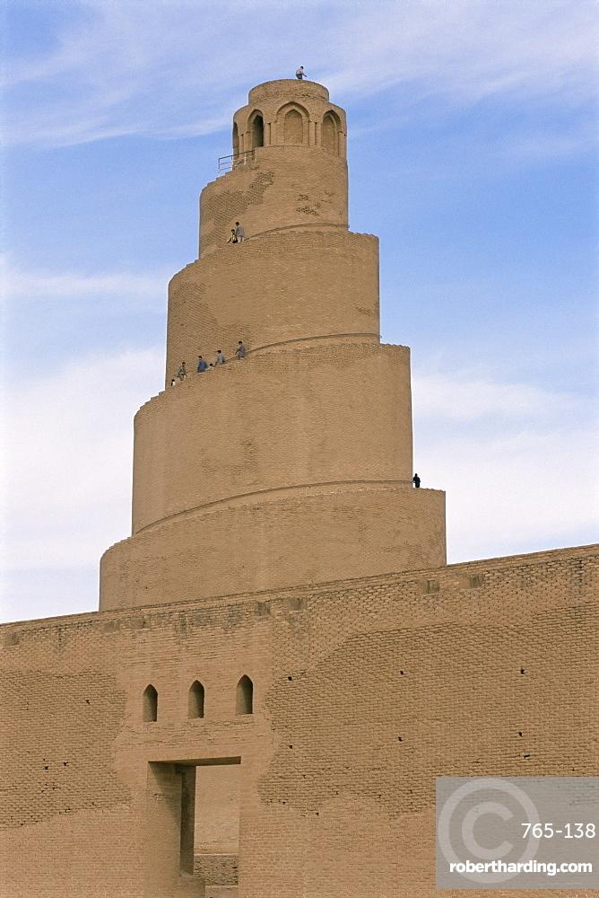 Al Malwuaiya Tower (Malwiya Tower), Samarra, Iraq, Middle East