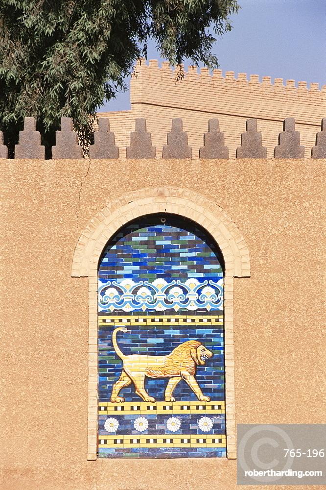 Lion, Babylon, Iraq, Middle East