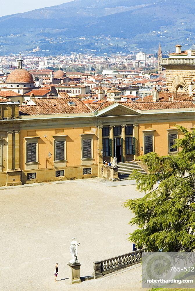 Meridiana Palace, Boboli Gardens, Florence, Tuscany, Italy, Europe