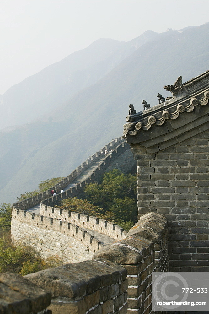 The Great Wall at Mutianyu, UNESCO World Heritage Site, Beijing, China, Asia